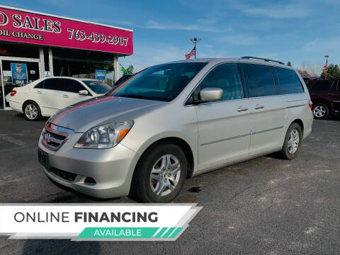 2006 Honda Odyssey for sale at LUXURY IMPORTS AUTO SALES INC in North Branch MN
