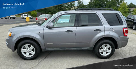 2008 Ford Escape Hybrid for sale at Xcelerator Auto LLC in Indiana PA