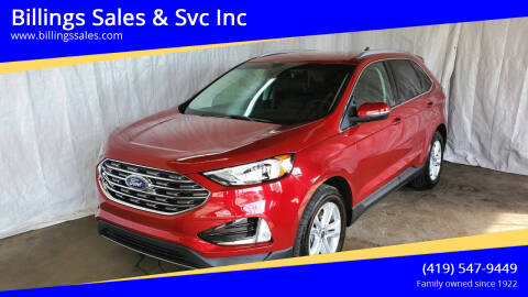 2020 Ford Edge for sale at Billings Sales & Svc Inc in Clyde OH