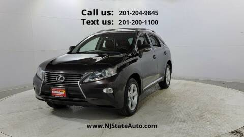 2013 Lexus RX 350 for sale at NJ State Auto Used Cars in Jersey City NJ