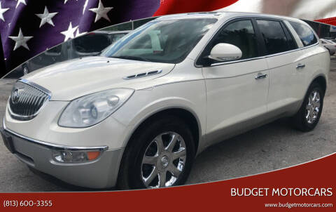 2009 Buick Enclave for sale at Budget Motorcars in Tampa FL