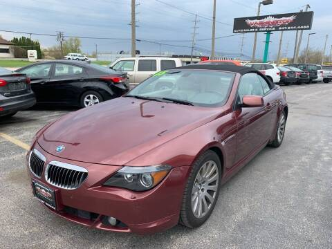 2005 BMW 6 Series for sale at Washington Auto Group in Waukegan IL