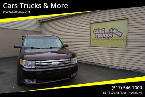 2012 Ford Flex for sale at Cars Trucks & More in Howell MI