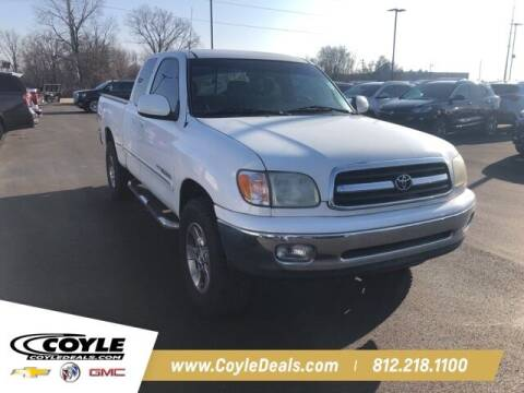 2002 Toyota Tundra for sale at COYLE GM - COYLE NISSAN - Coyle Nissan in Clarksville IN