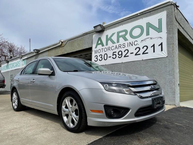 2012 Ford Fusion for sale at Akron Motorcars Inc. in Akron OH