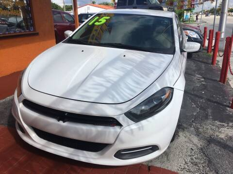 2015 Dodge Dart for sale at Versalles Auto Sales in Hialeah FL