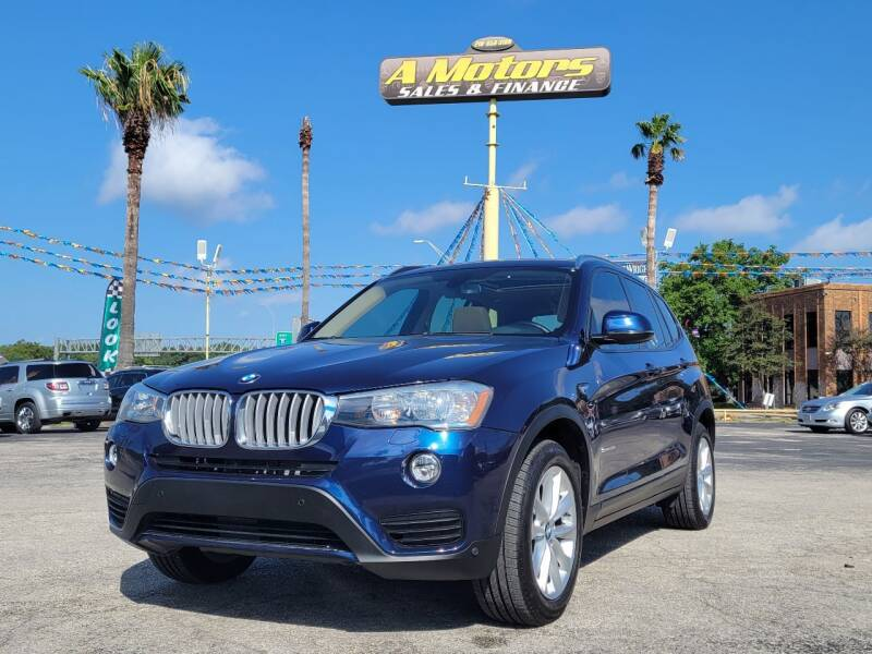 2015 BMW X3 for sale at A MOTORS SALES AND FINANCE - 5630 San Pedro Ave in San Antonio TX