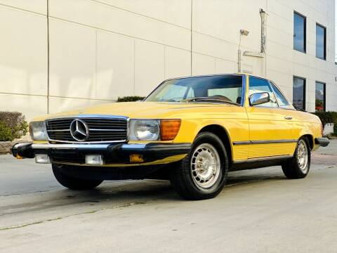 1978 Mercedes-Benz 450 SL for sale at New City Auto - Retail Inventory in South El Monte CA