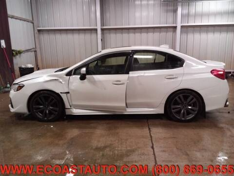 2016 Subaru WRX for sale at East Coast Auto Source Inc. in Bedford VA
