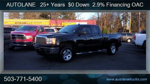 2011 GMC Sierra 1500 for sale at Auto Lane in Portland OR