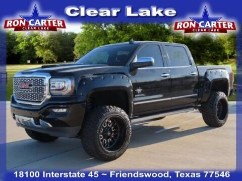 2017 GMC Sierra 1500 for sale at Ron Carter  Clear Lake Used Cars in Houston TX
