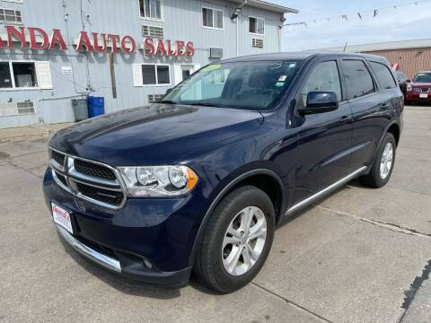 2012 Dodge Durango for sale at De Anda Auto Sales in South Sioux City NE