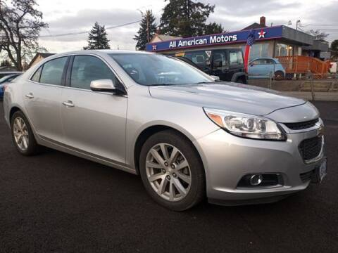 2015 Chevrolet Malibu for sale at All American Motors in Tacoma WA