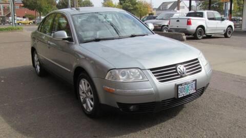 2005 Volkswagen Passat for sale at D & M Auto Sales in Corvallis OR