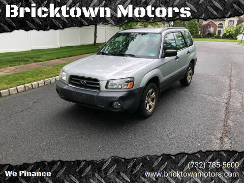 2005 Subaru Forester for sale at Bricktown Motors in Brick NJ