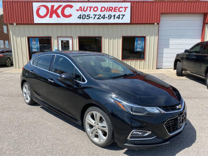 2017 Chevrolet Cruze for sale at OKC Auto Direct, LLC in Oklahoma City OK