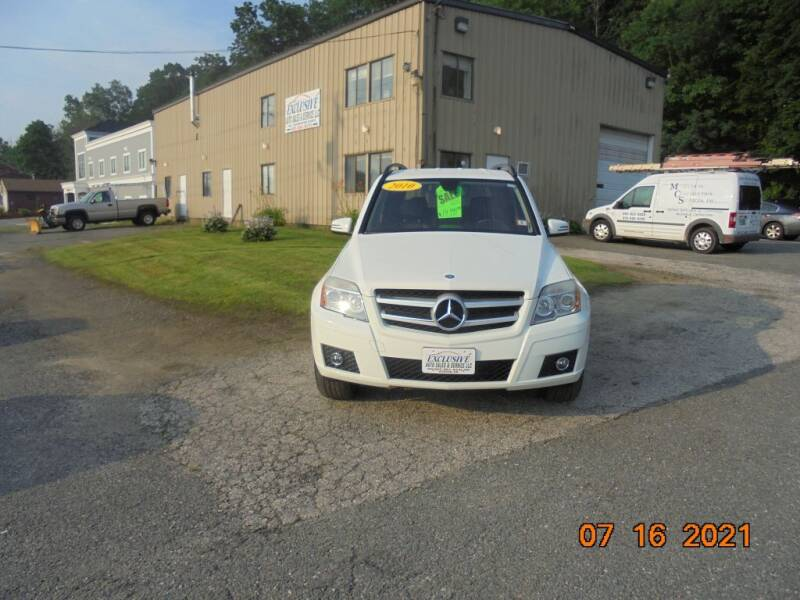 2010 Mercedes-Benz GLK for sale at Exclusive Auto Sales & Service in Windham NH