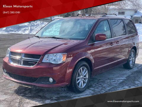 2017 Dodge Grand Caravan for sale at Klean Motorsports in Skokie IL