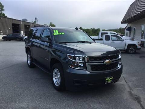 2019 Chevrolet Tahoe for sale at SHAKER VALLEY AUTO SALES in Enfield NH