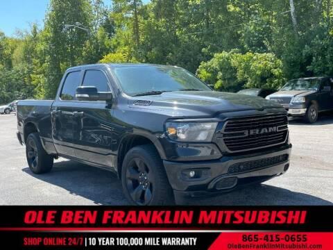 2019 RAM Ram Pickup 1500 for sale at Ole Ben Franklin Mitsbishi in Oak Ridge TN