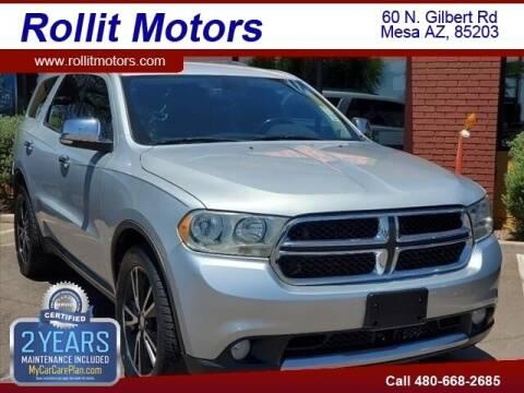 2011 Dodge Durango for sale at Rollit Motors in Mesa AZ