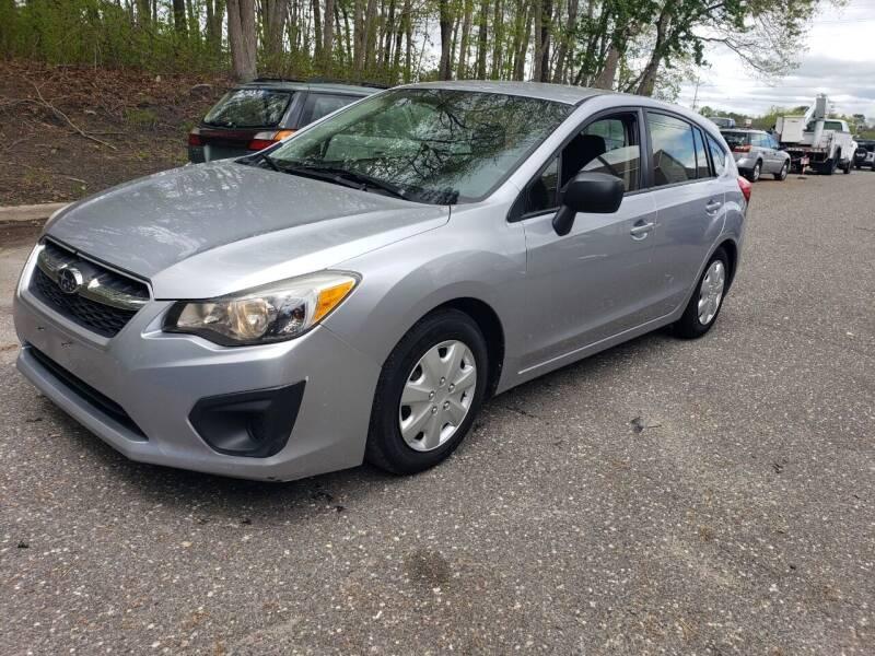 2014 Subaru Impreza for sale at CRS 1 LLC in Lakewood NJ