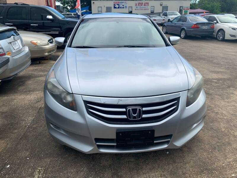 2012 Honda Accord for sale at 1st Stop Auto in Houston TX
