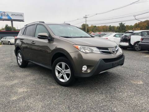 2014 Toyota RAV4 for sale at Mass Motors LLC in Worcester MA
