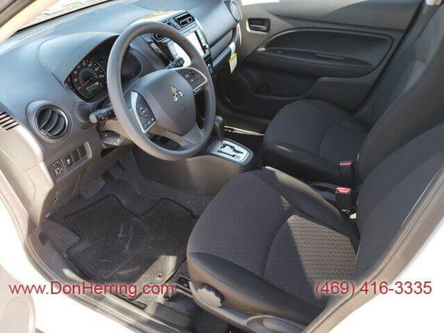 2020 Mitsubishi Mirage ES - Plano TX