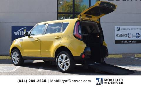 2016 Kia Soul for sale at CO Fleet & Mobility in Denver CO