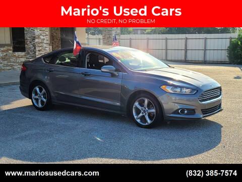 2013 Ford Fusion for sale at Mario's Used Cars - Pasadena Location in Pasadena TX