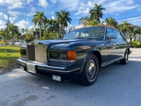 1993 Rolls-Royce Silver Spur for sale at American Classics Autotrader LLC in Pompano Beach FL