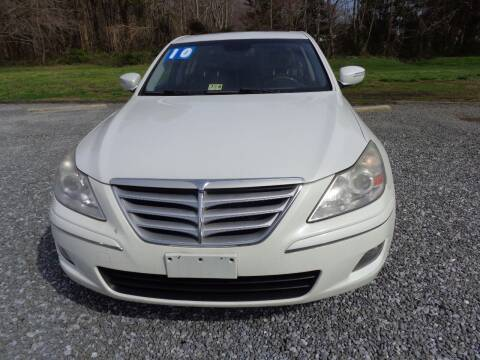 2010 Hyundai Genesis for sale at European Coach Werkes, Inc in Frankford DE