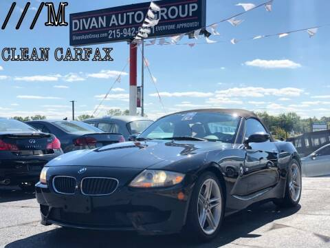 2006 BMW Z4 M for sale at Divan Auto Group in Feasterville PA