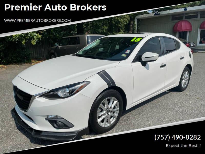 2015 Mazda MAZDA3 for sale at Premier Auto Brokers in Virginia Beach VA