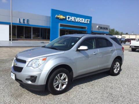 2015 Chevrolet Equinox for sale at LEE CHEVROLET PONTIAC BUICK in Washington NC
