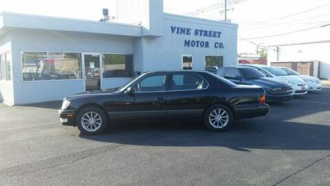 1998 Lexus LS 400 for sale at VINE STREET MOTOR CO in Urbana IL