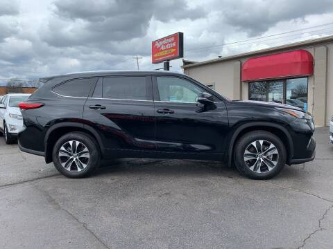 2020 Toyota Highlander for sale at Ageless Autos in Zeeland MI