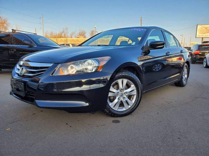 2012 Honda Accord for sale at LA Motors LLC in Denver CO