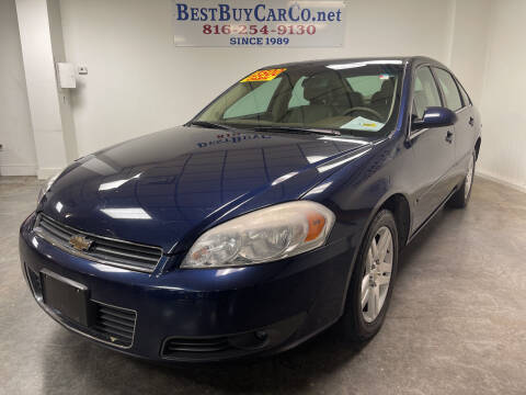 2007 Chevrolet Impala for sale at Best Buy Car Co in Independence MO