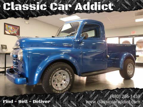 1948 Dodge B1B for sale at Classic Car Addict in Mesa AZ