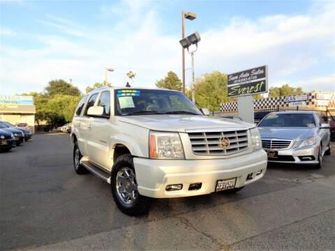 2003 Cadillac Escalade for sale at Save Auto Sales in Sacramento CA