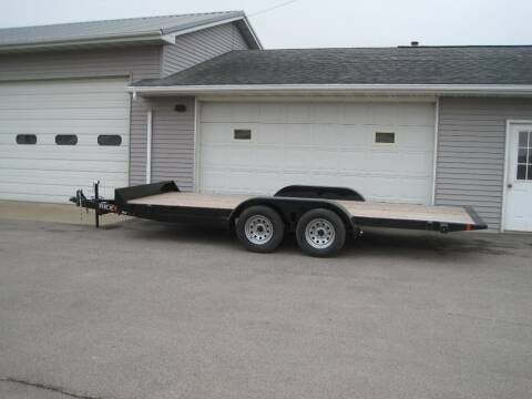 2018 RICE` 82 IN 18 FT FULL TILT TRAILER for sale at G T AUTO PLAZA Inc in Pearl City IL
