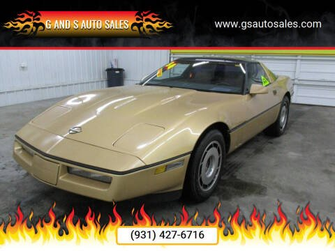 1984 Chevrolet Corvette for sale at G and S Auto Sales in Ardmore TN