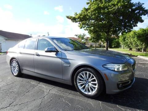 2014 BMW 5 Series for sale at SUPER DEAL MOTORS 441 in Hollywood FL