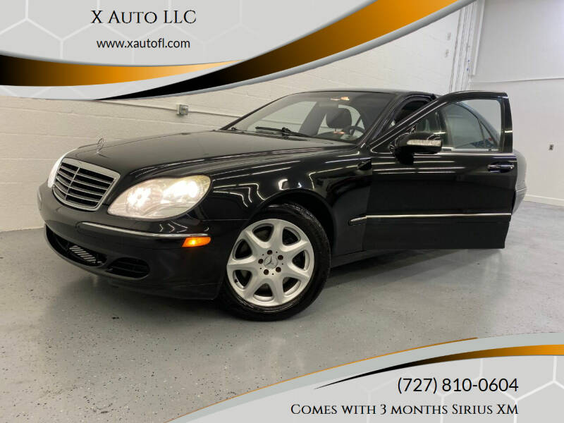 2003 Mercedes-Benz S-Class for sale at X Auto LLC in Pinellas Park FL