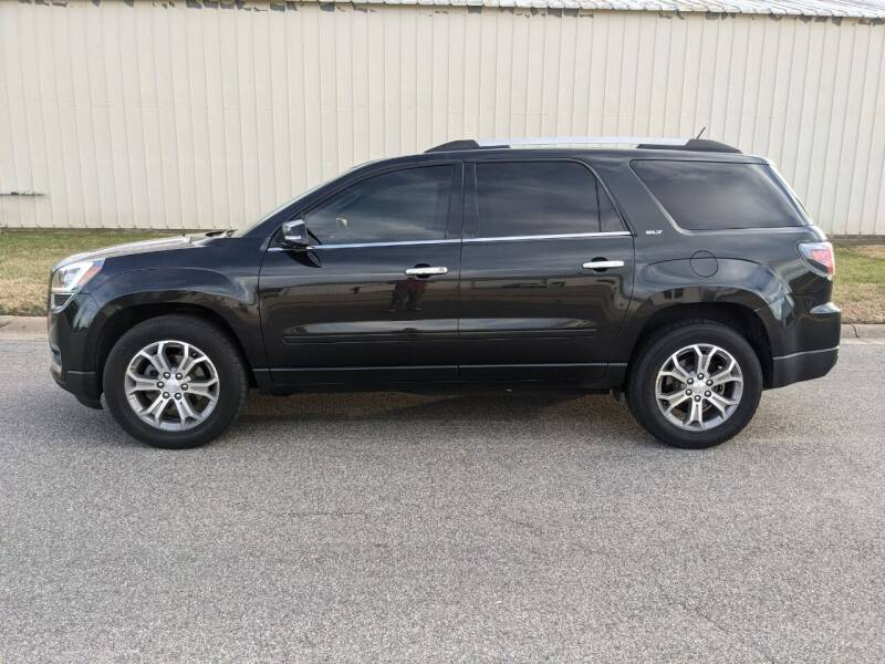 2014 GMC Acadia for sale at TNK Autos in Inman KS