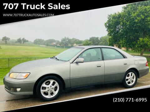 2001 Lexus ES 300 for sale at 707 Truck Sales in San Antonio TX