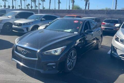 2017 Infiniti Q50 for sale at FREDY USED CAR SALES in Houston TX