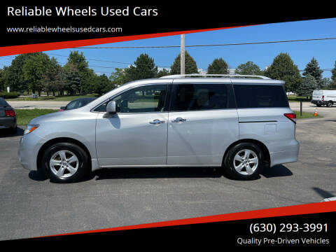 2011 Nissan Quest for sale at Reliable Wheels Used Cars in West Chicago IL